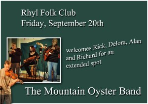 Rhyl Folk Club @ Tynewydd Community Centre | Wales | United Kingdom