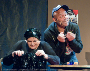 Louis Emerick and Lynne Fitzgerald in Two