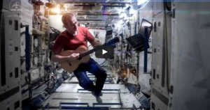Chris Hadfield Creates First Ever Music Video From Space