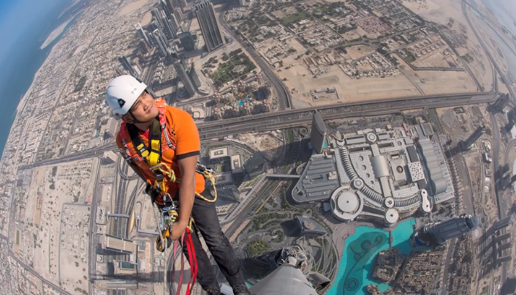 Joe McNally Shoots From The Tallest Building in the World   Fstoppers